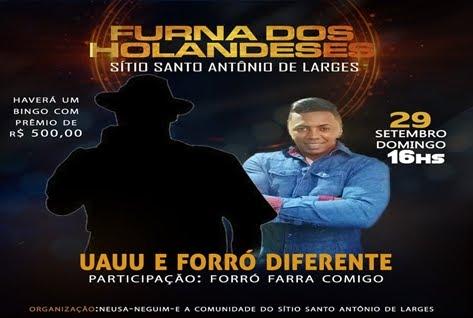 BINGO: FURNA DOS HOLANDESES/TRIUNFO