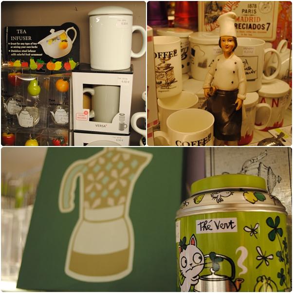 Decoración cocina cuadros tazas té café