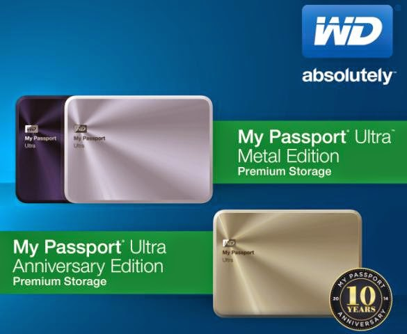Western Digital Celebrates My Passport's 10th Year by Unveiling New Designs