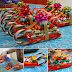 DIY Candy Cane Santa Sleighs