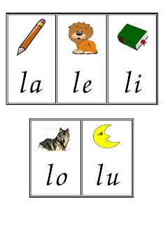 Ir Formando Peque  As Palabras Con Las Letras Que Vamos Trabajando