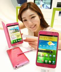 Samsung Galaxy Note Pink