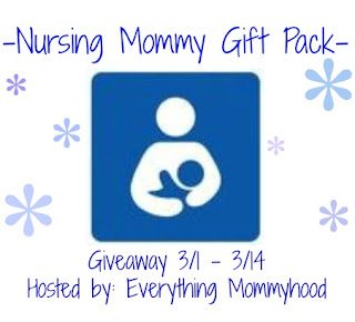 breastfeed Nursing Mommy Gift Pack Giveaway!
