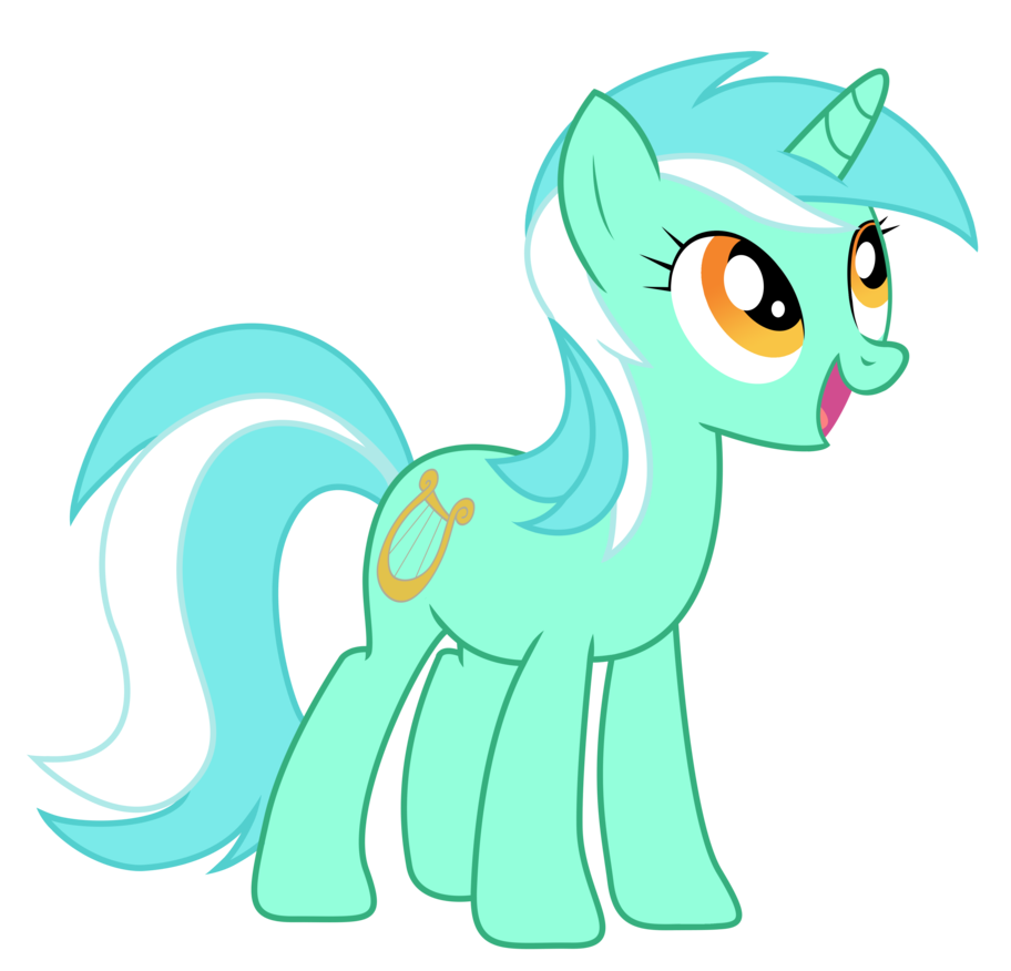 Lyra Sitting Vector Equestria Daily...