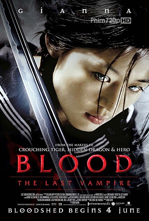 Blood: The Last Vampire 2009 poster
