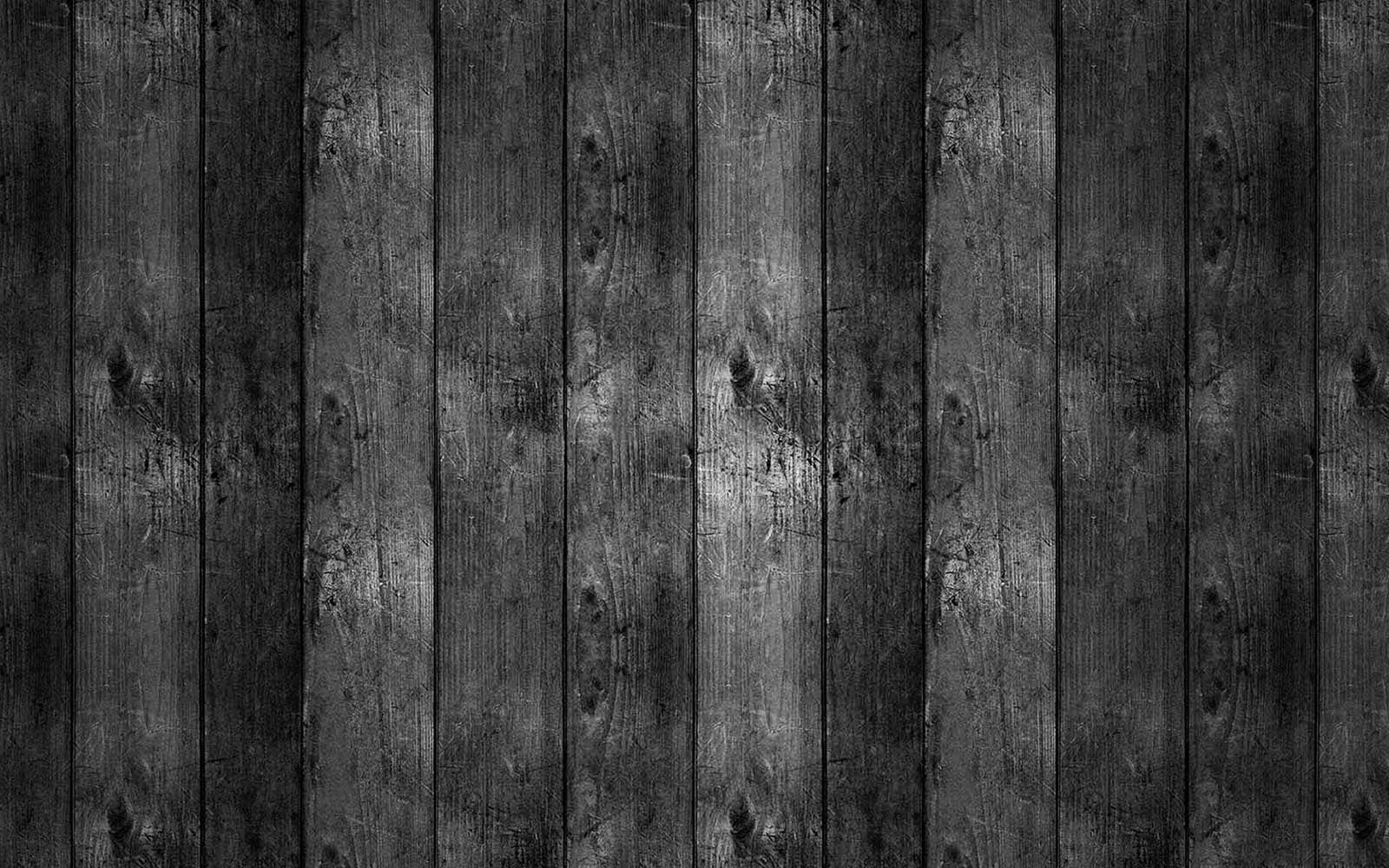 Wallpapers Black Wood
