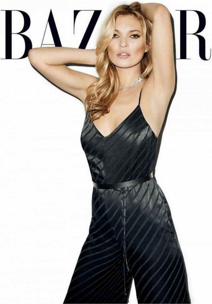 Kate Moss for Harper's Bazaar (May 2014)
