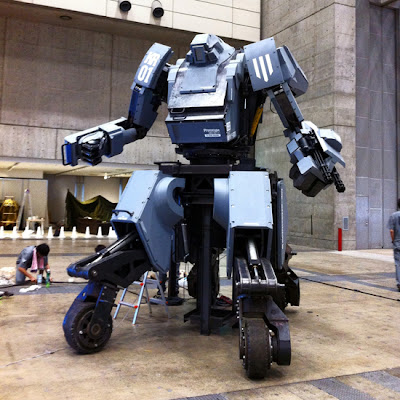 Kuratas (KR01), Robot Raksasa yang bisa dikendarai