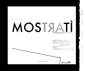 Sito Web >>>Mostratì Contemporary Art Exhibition