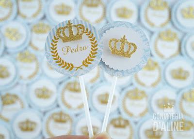 realeza principe provençal coroa dourado