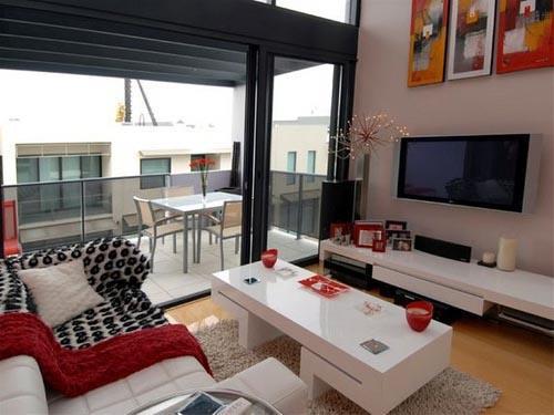 Construindo minha casa clean salas modernas de estar e for Living room ideas no tv