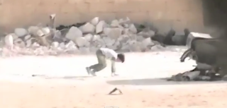 Syria: Boy  Rescues Girl from Sniper!