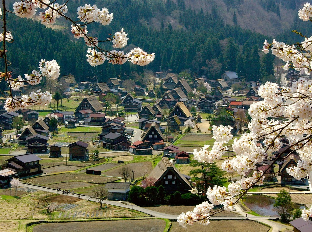 Shirakawa-go Japan  city images : Corners of the World: Ogimachi Village, Shirakawa Go, Japan.