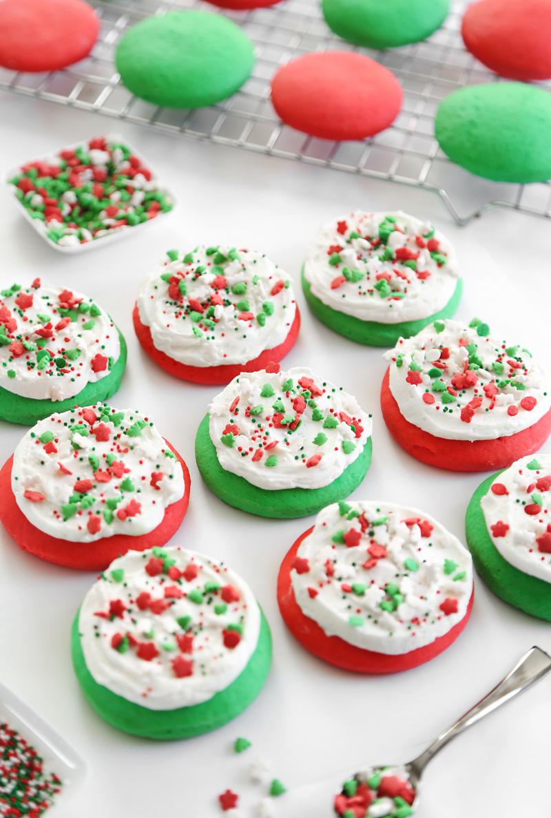 Lofthouse Style Soft Sugar Cookies | Sprinkle Bakes