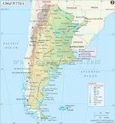 Mapa argentina rutas . Mapa de Argentina (mapa argentina rutas)