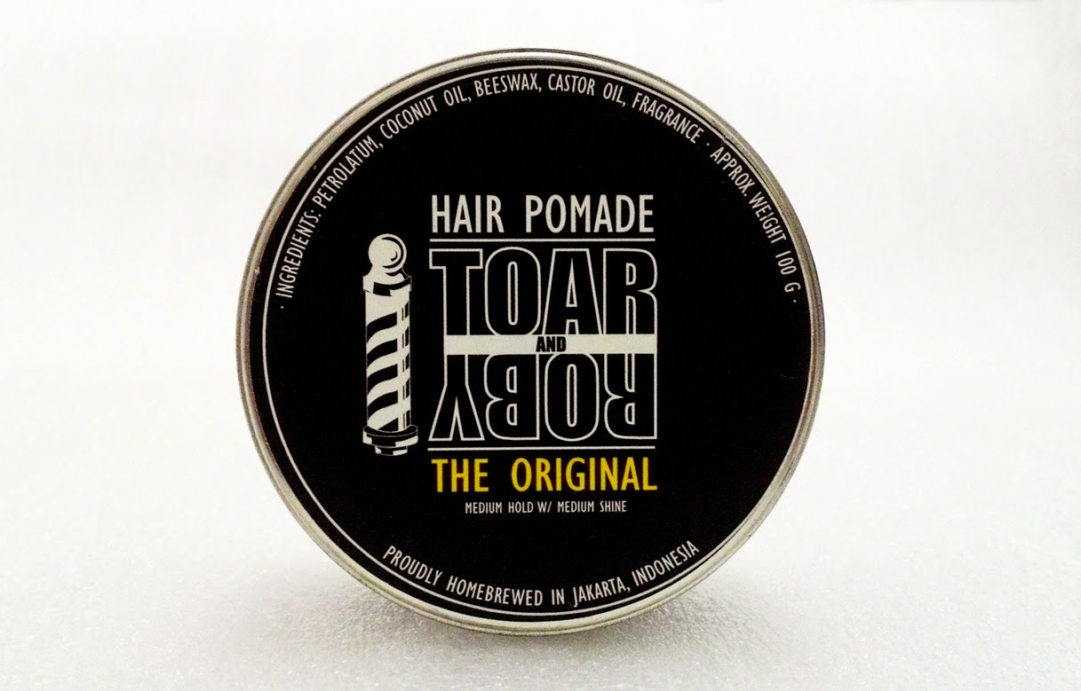 Pomade Toar n Roby The Original Medium