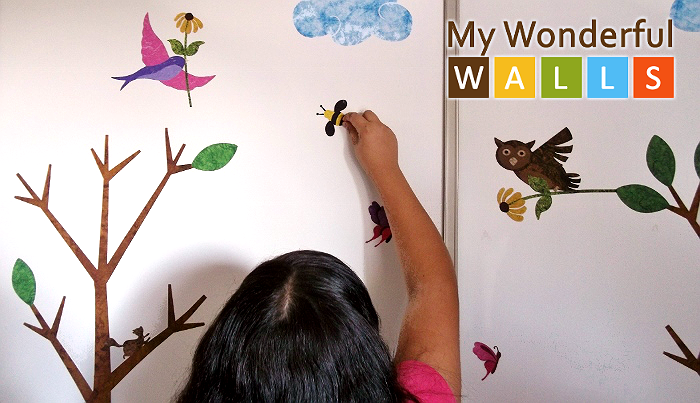 My Wonderful Walls Decor Stickers for Tweens and Kids