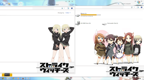 Erica Hartmann: Strike Witches ( Windows 7 ) 4