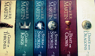 game of thrones, boxset, books, colourful, a song of ice and fire, amazon, bargain, black friday, HBO, complete set, paperback