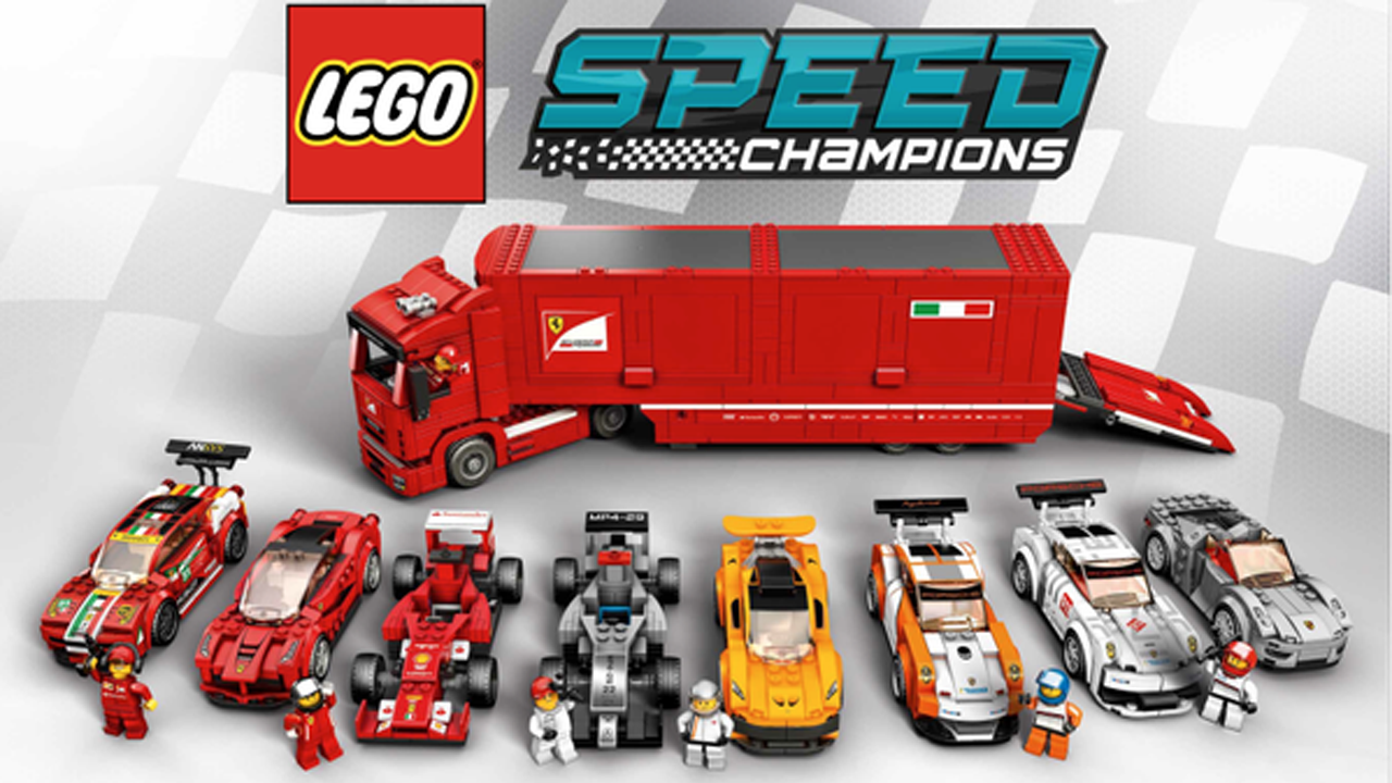 100 lego speed champions 2017 lego speed champions are here and we want one of each set. Black Bedroom Furniture Sets. Home Design Ideas