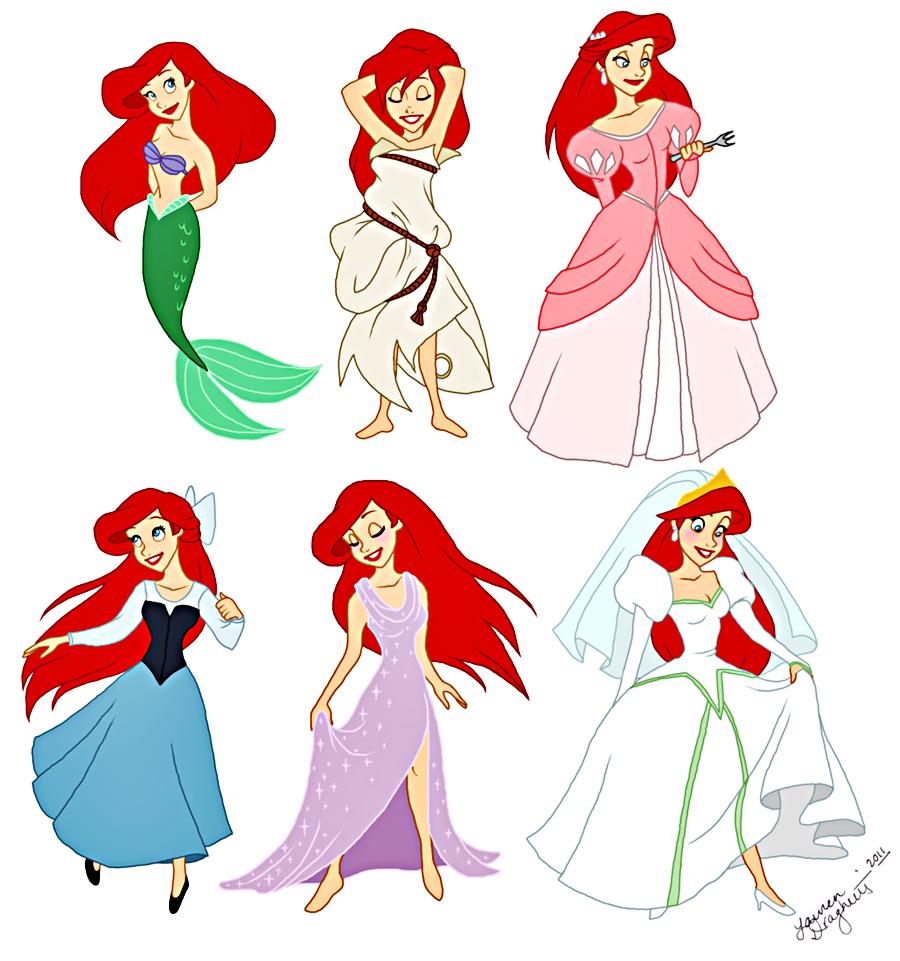 V World Rocks Modern Disney Princess Ariel