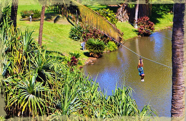Maui Hawaii family friendly Zipline tour tickets