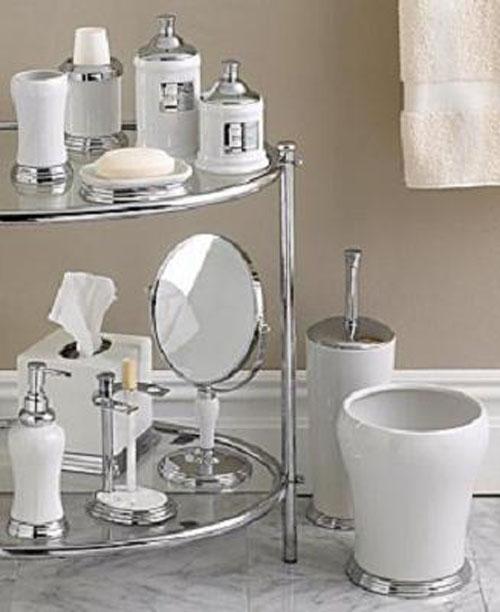 Modernos sets de accesorios de ba o decorar casa y hogar for Utensilios modernos