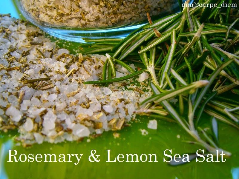 Morska sol sa ružmarinom i limunom