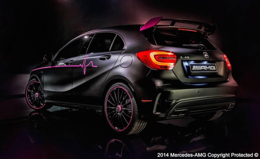 メルセデスAMGが公開した「A45 AMG エリカ」