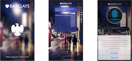 Barclays - Accessibilité sur iPhone