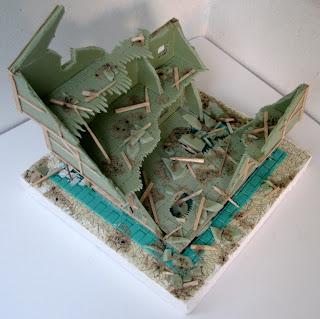Mordheim - jeden z modułów składający się na stół do gry.