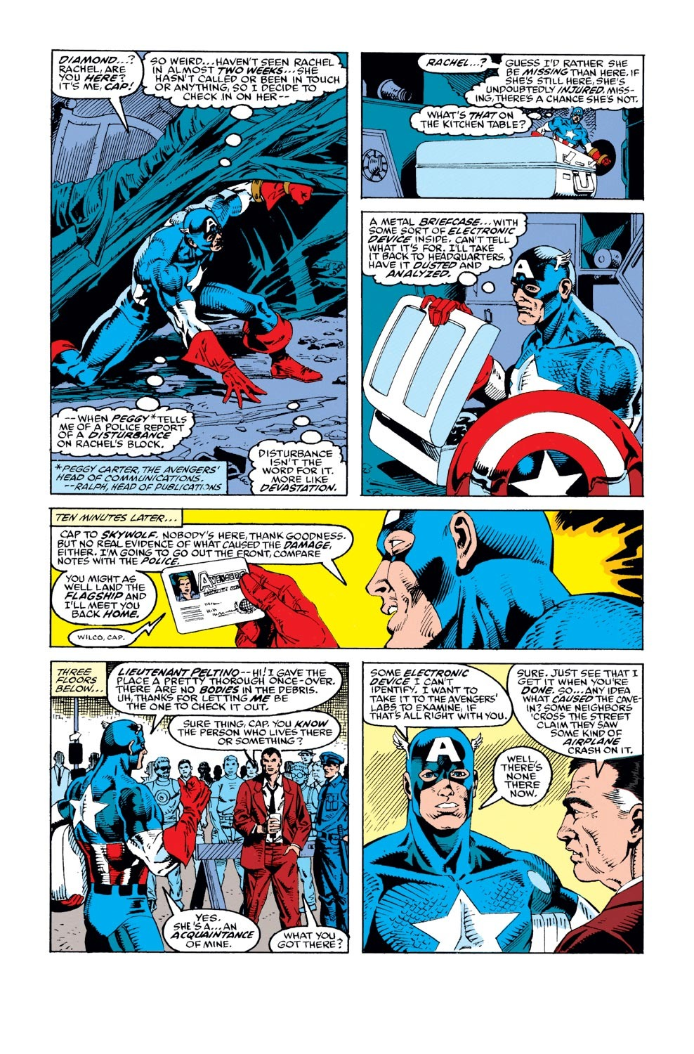 Captain America (1968) Issue #387 #320 - English 3