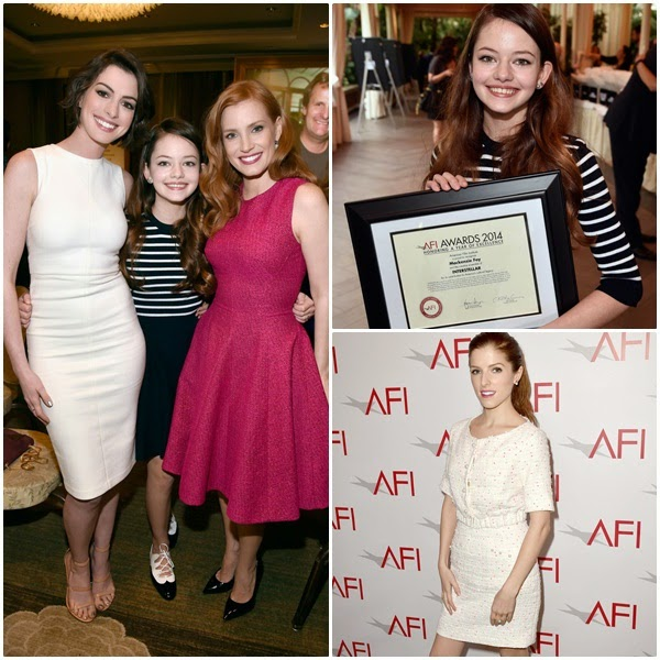 HME: Mackenzie Foy & Anna Kendrick : 2015 AFI Awards (09.01