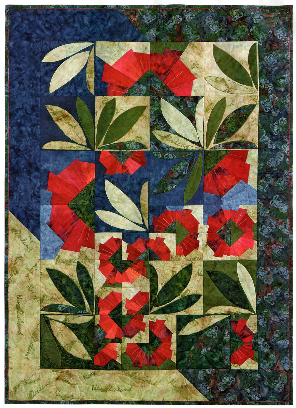 Quilt Inspiration: Christmas around the world: New Zealand