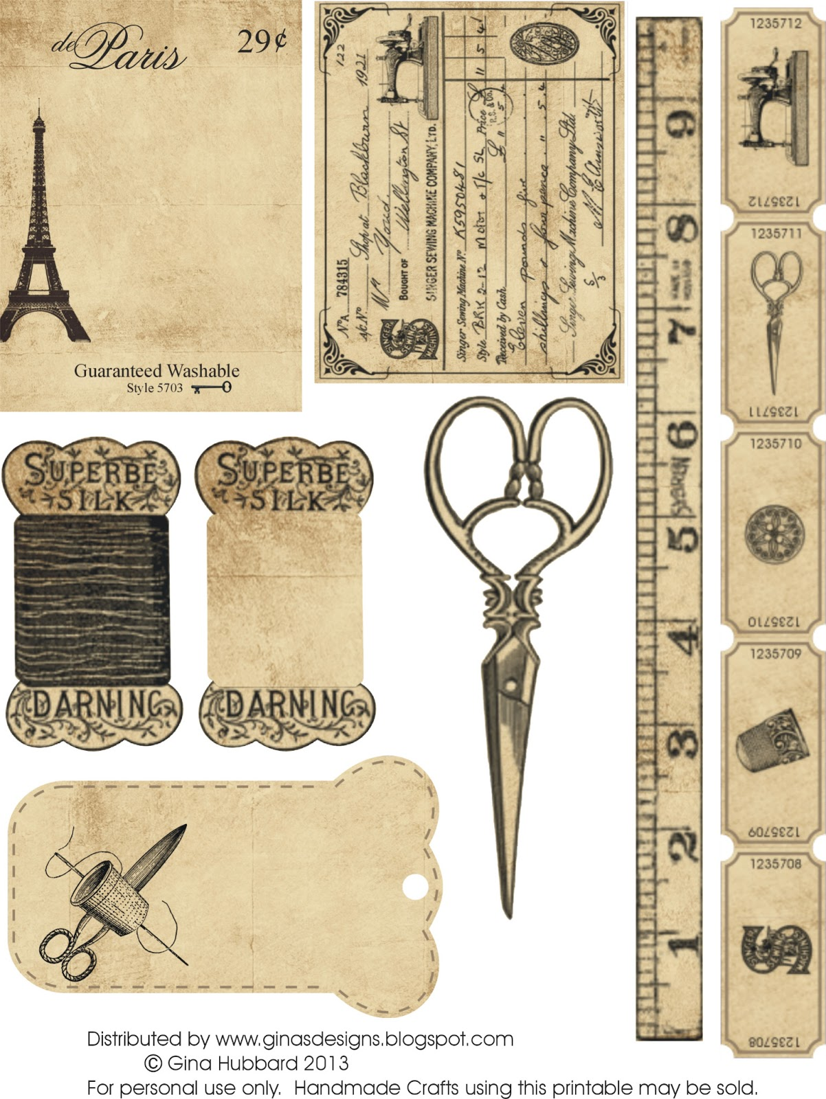 It's just a picture of Accomplished Free Vintage Printables