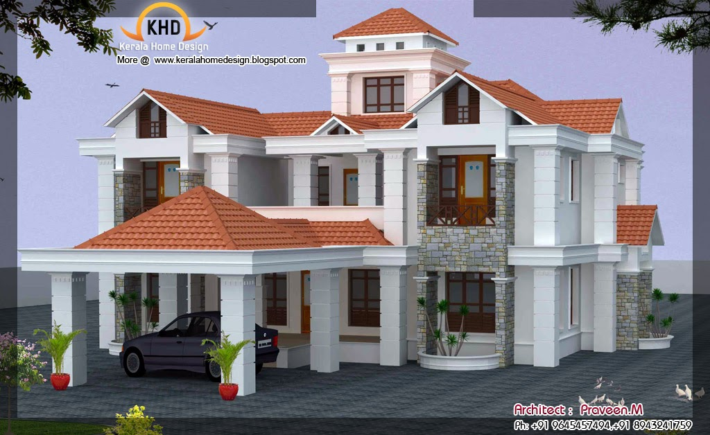 house elevation 3239 sq ft kerala home design and december 2011 kerala home design and floor plans