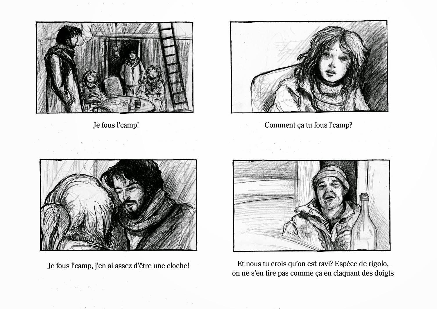 storyboard Juliette Pinoteau
