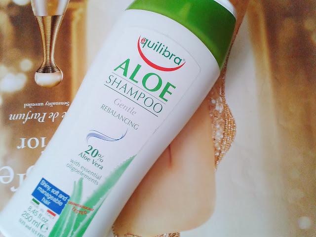Equilibra, Aloe Shampoo - aloesowy szampon do włosów