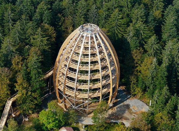 World´s Longest Tree Top Walkway [Neuschonau, Germany]