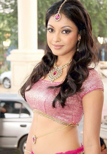 Tanushree Dutta in Blouse with Belly Button