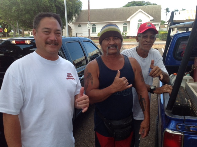 Eddie tonto and willy for Waimanalo feed supply
