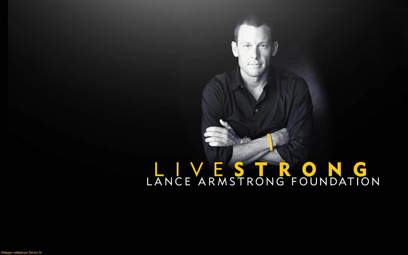 Lance Armstrong Live STRONG Foundation