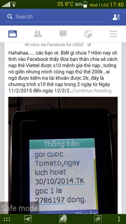 Đủ chiêu lừa trên Facebook