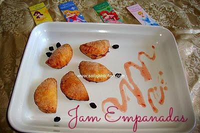 image of Jam Empanadas Recipe /Jam Filled Empanadas Recipe /Jam Empanaditas Recipe