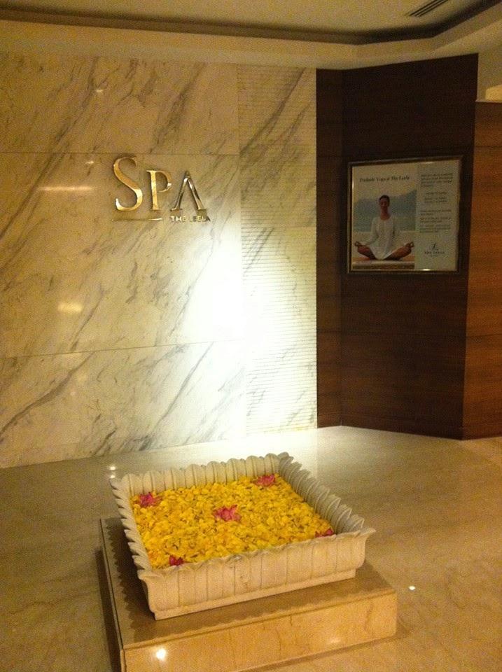 spa the leela