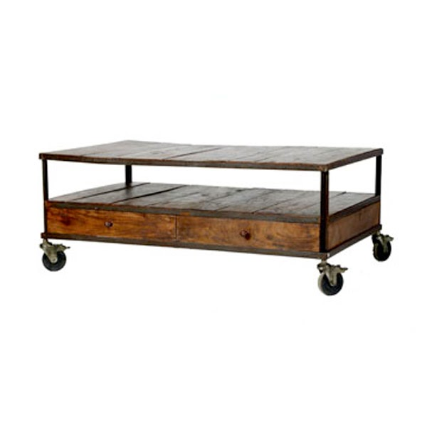 French Industrial Coffee Table: RG _ The Shop Library: French Industrial Coffee Table