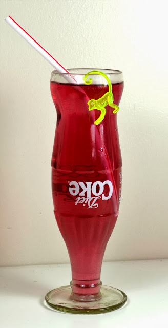 Drinking glass - Gifts - Review - upside down diet coke bottle - vase - home - lifestyle