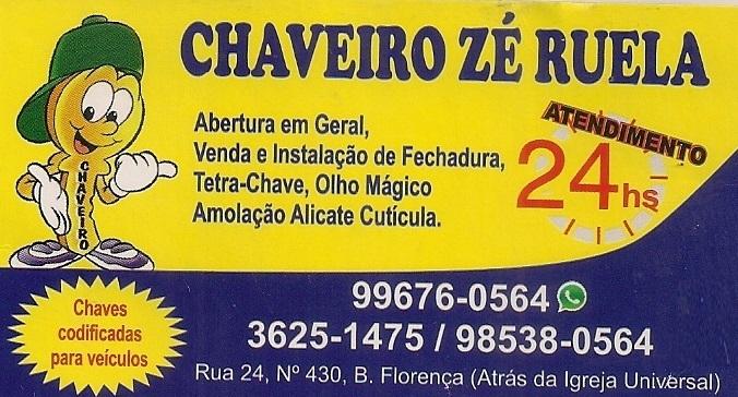 CHAVEIRO ZÉ RUELA