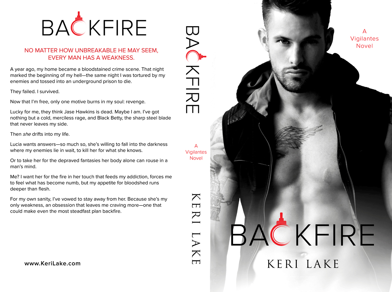 the saucy wenches book club cover reveal backfire by keri lake