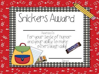 employee awards funny